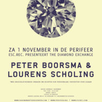 The Diamond Exchange: Peter Boorsma & Lourens Scholing